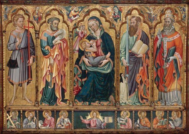La Vierge à l'enfant allaitant (M. de Santa Barbara a Matera.jpg